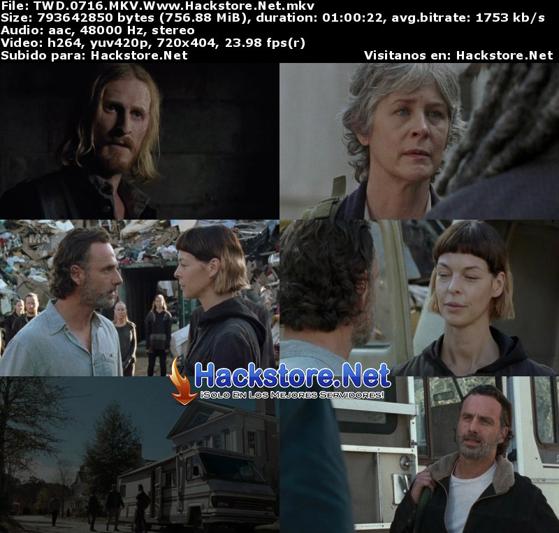"Capturas de The Walking Dead 7×16 ""The First Day of the Rest of Your Lives"""