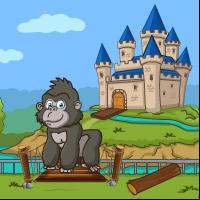 Play Games4Escape Little Goril…