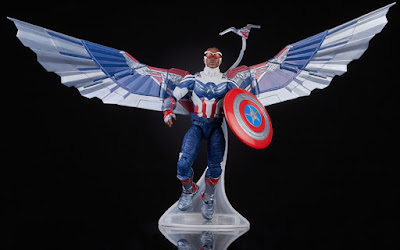 Marvel Legends The Falcon & The Winter Soldier Sam Wilson: Captain America Official Images