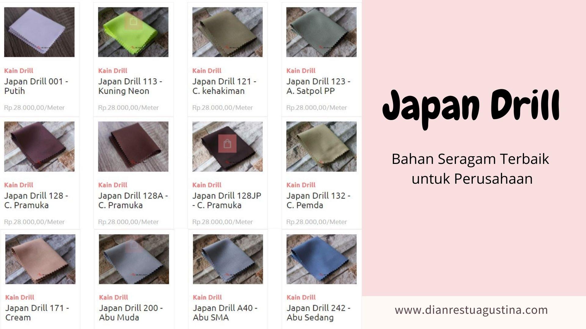 Karakteristik Japan Drill