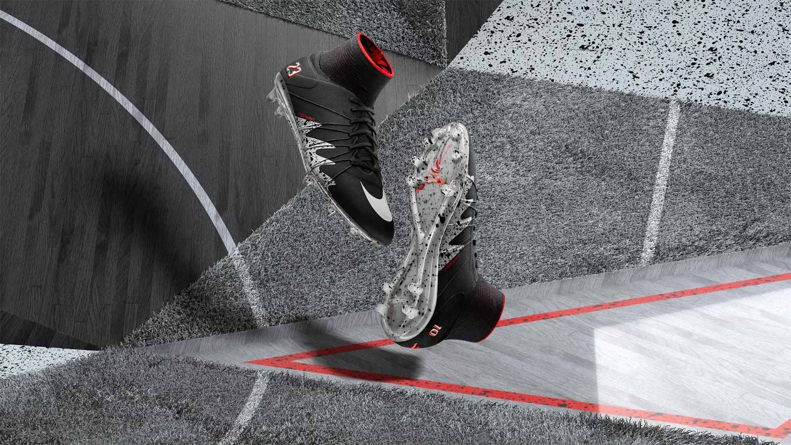 Nike Hypervenom Jordan Weiß