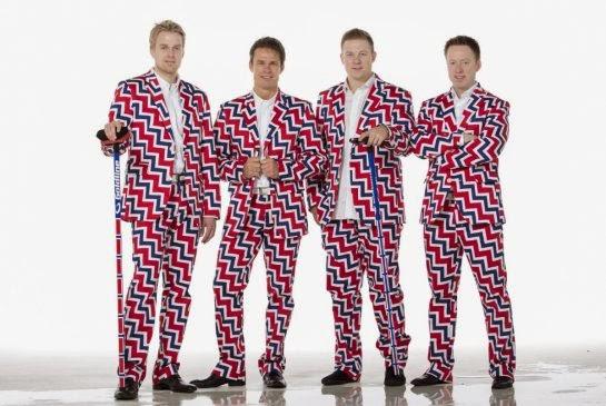 25466eb3e61c6 OLYMPIC STYLE....Sochi 2014 Winter Olympics Uniforms From Around the World