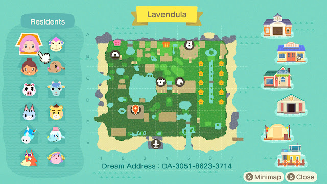 Animal Crossing Dream Address Spring 2020