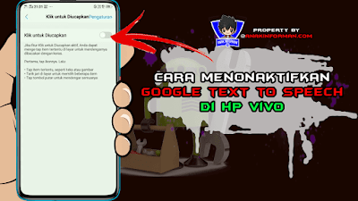 cara menonaktifkan google text to speech di vivo