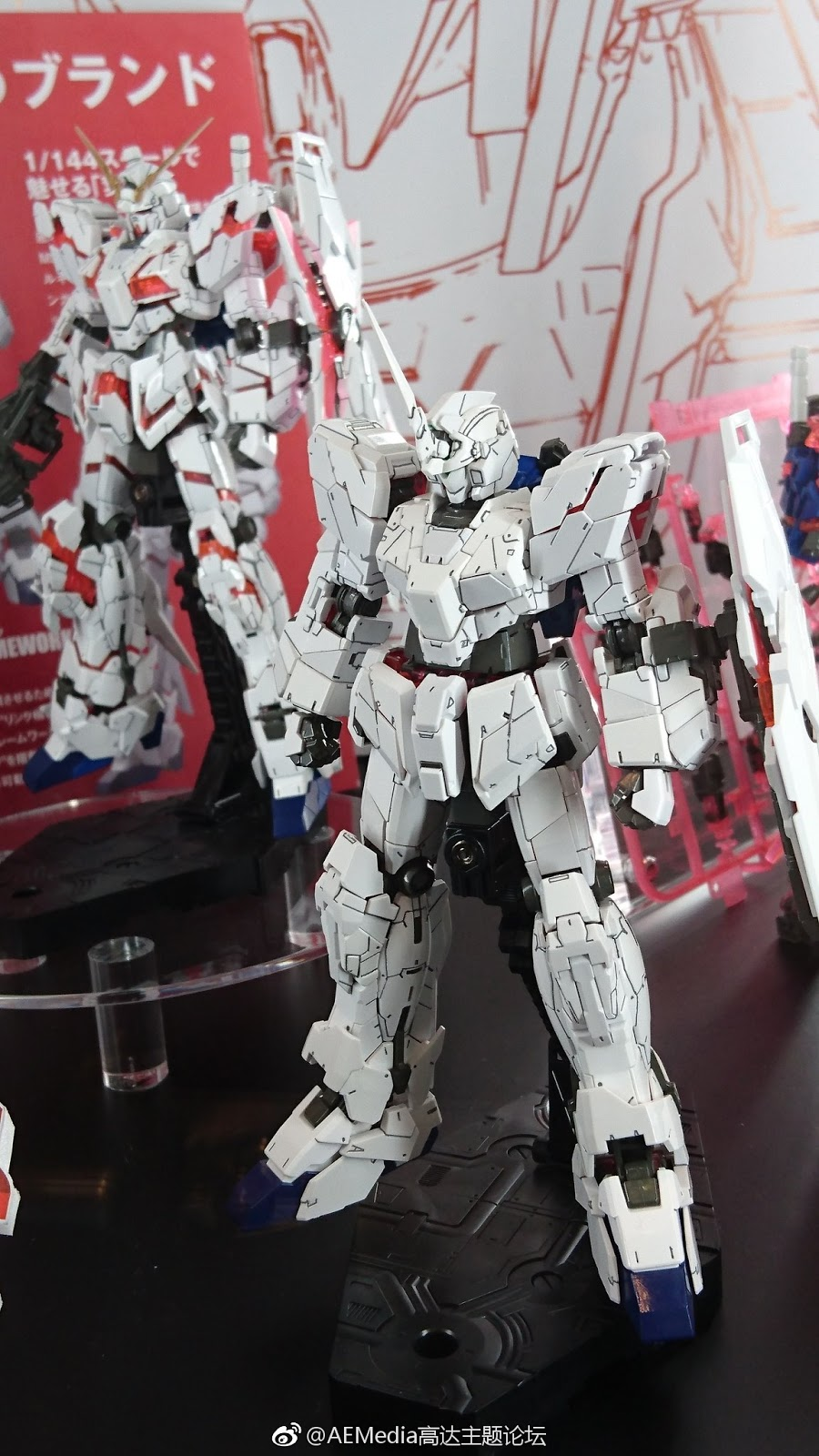 RG 1/144 Unicorn Gundam Exhibited at 56th Shizuoka Hobby Show