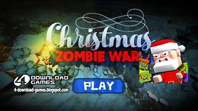 لعبة حرب زومبي الكرسمس Christmas Zombie War