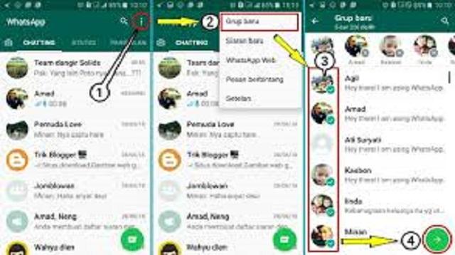 Cara Membuat Link Grup Whatsapp 2021 Cara1001