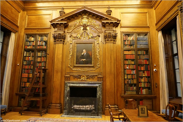 Widener Memorial Room, Universidad de Harvard