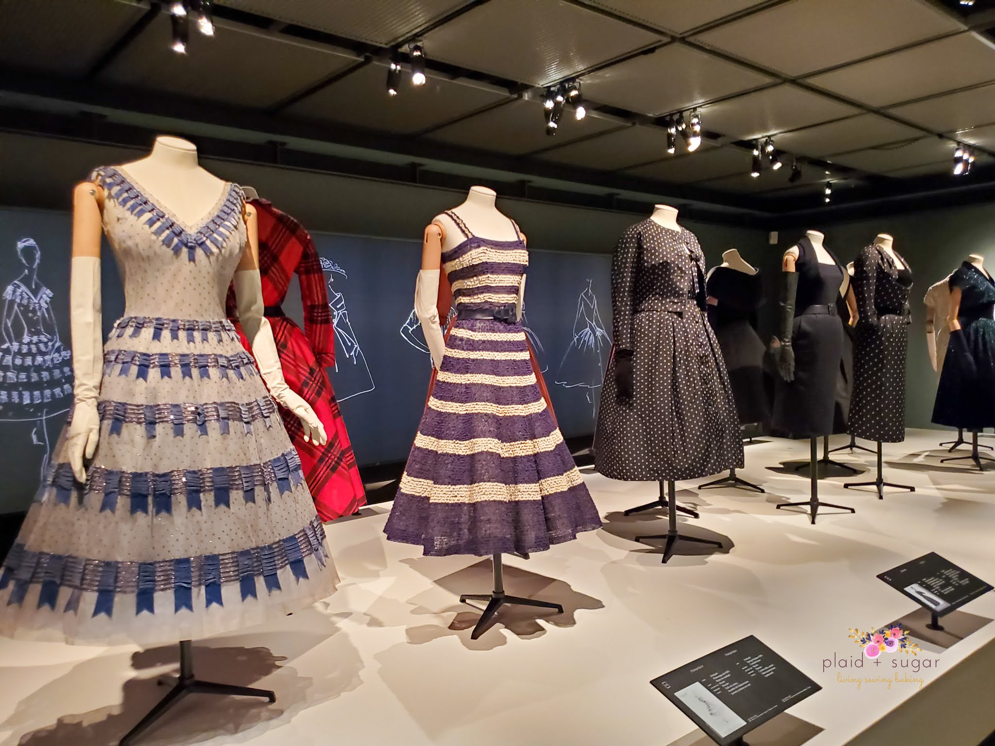 Visiting the Dior Exhibit in Montreal at the McCord Museum post by Plaid and Sugar