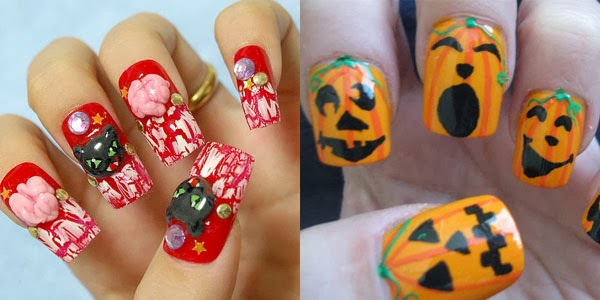 Wonderful Easy Halloween Nail Art Nail Art Ideas 101