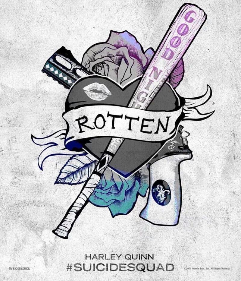 Diy 10 Tatuaże Jokera I Harley Quinn