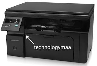 Hp M1136 printer Error E8