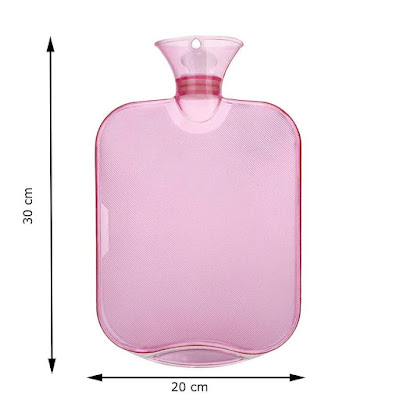 Hot Water Bag Force24 Transparent for Pain Relief