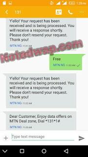 MTN 100% Double Data