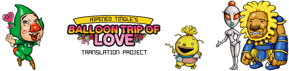 Tingle's Balloon Trip of Love translation project