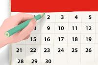 Avance del calendario provisional FEDA 2020