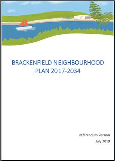 Cover image of Brackenfield Neighbourhood Plan
