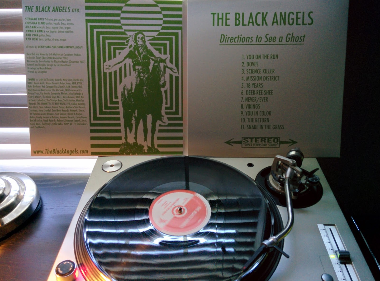 Weasel's Music & Vinyl Culture: Black Angels - Directions To