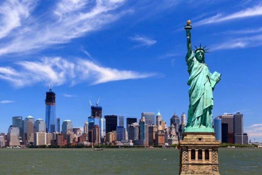 NY City statue