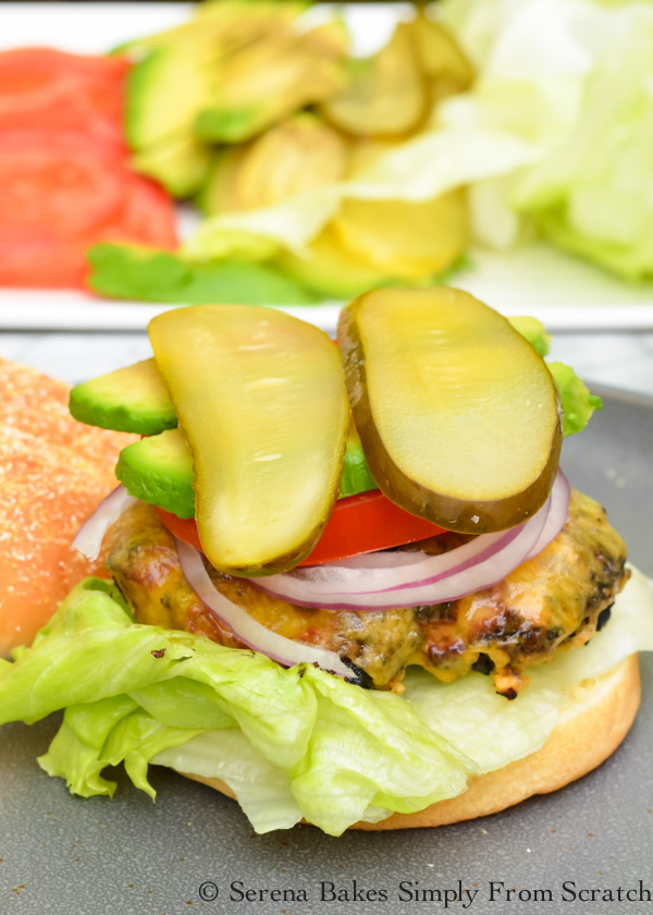 Colt's Juicy Burgers are always requested at family gatherings! Super easy to make and so delicious! Add your favorite slice of cheese for a Cheeseburger from Serena Bakes Simply From Scratch.