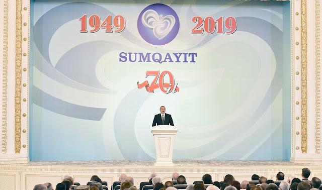 Aliyev: los armenios mataron a los armenios en Sumgait
