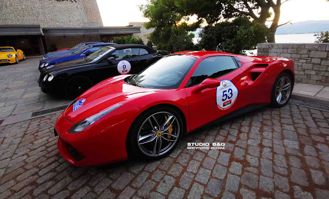 Συναρπαστικά αυτοκίνητα στο Ναύπλιο για το 1ο Rallye de Greece