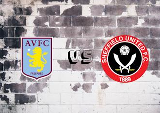 Aston Villa vs Sheffield United  Resumen y goles
