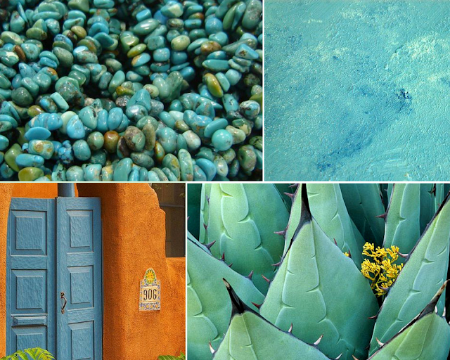 Sophie Blake NY Mayakoba Collection Inspiration Turquoise -Azure Pinterest Board