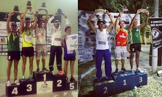 Atleta de Baraúna,PB, sobe ao pódio em duas corridas no Rio Grande do Norte