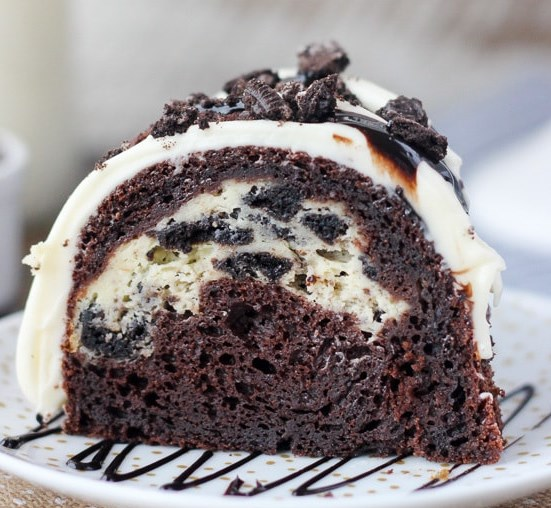 Oreo Chocolate Cheesecake Cake #desserts #sweets