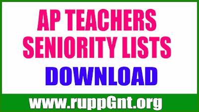 ALL DISTRCTS AP TEACHERS SENIORITY LISTS DOWNLOAD