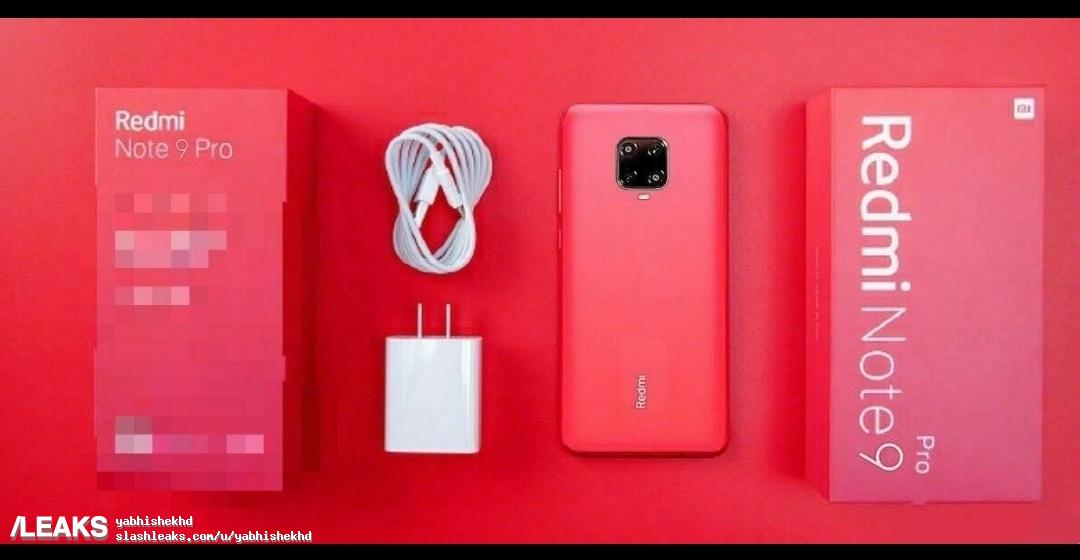 You have never seen such a Redmi Note 9 Pro. Smartphone Package Contents