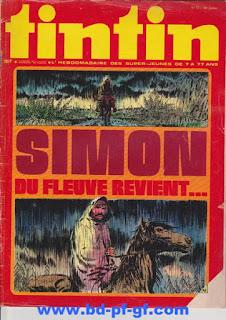 Tintin numéro 52, 1975, Simon du Fleuve