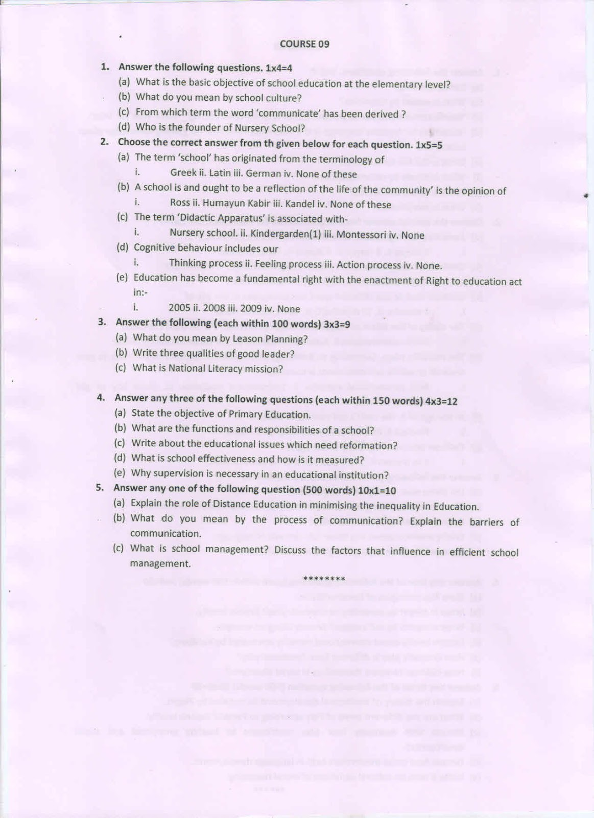 Central library janata college kabuganj old question paper 2014 old question paper 2014 for deled 2nd year examination malvernweather Images