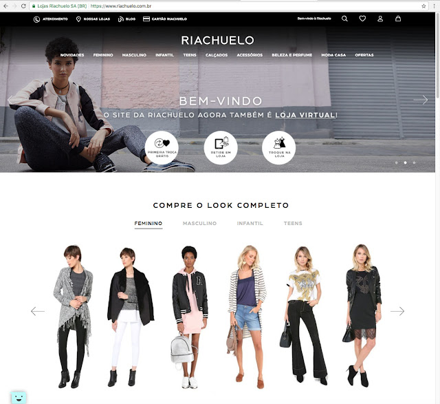 loja online riachuelo