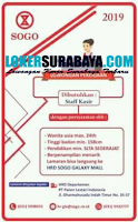 Lowongan Pekerjaan di PT. Panen Lestari Indonesia (SOGO) Nopember 2019