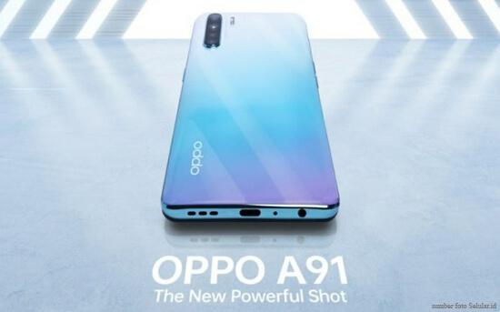 Harga dan Spesifikasi Ponsel Oppo A91
