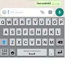 mengubah gaya penulisan whatsapp