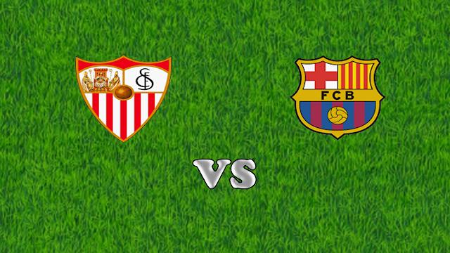 موعد مباراة برشلونة ضد إشبيلية  في الدوري الإسباني