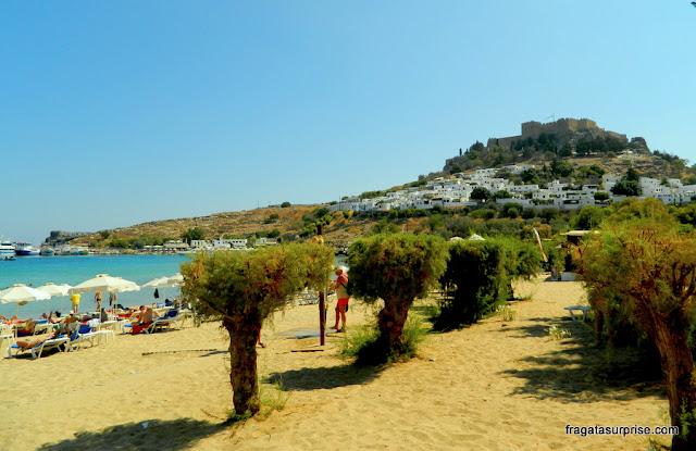 Vila de Lindos, Ilha de Rodes, Grécia