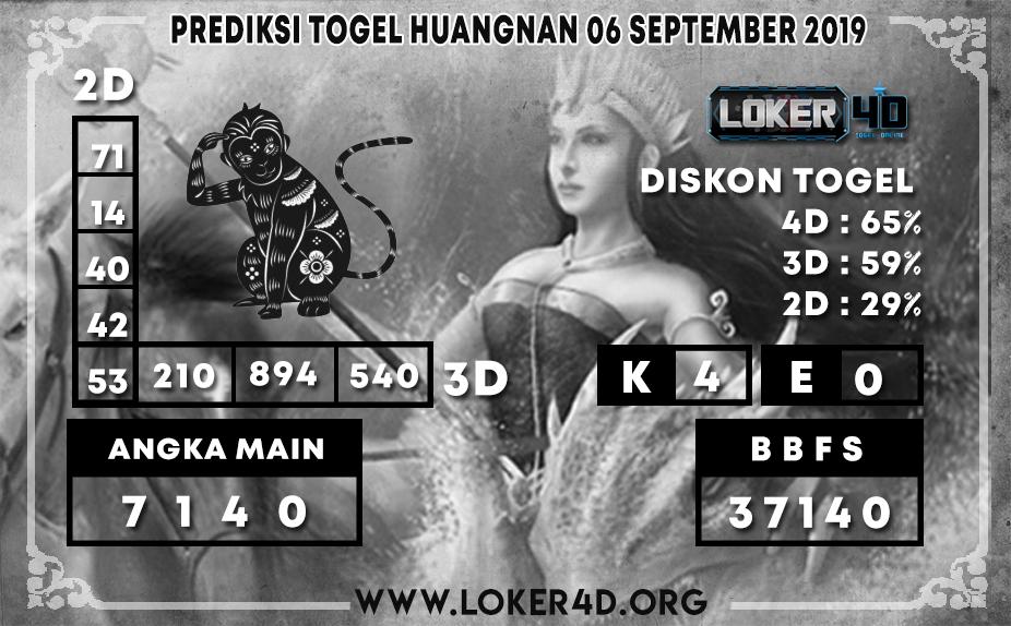 PREDIKSI TOGEL HUANGNAN LOKER4D 06 OKTOBER 2019