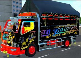 Truck canter tawakal terbaru