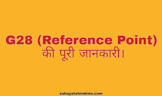 G28 (Reference Point) introduction