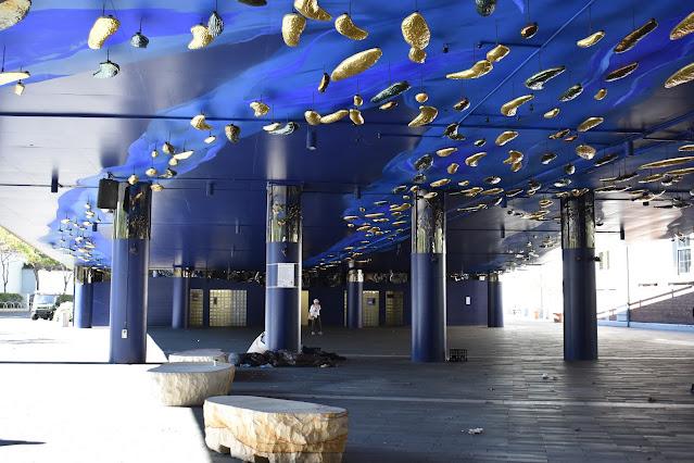 Haymarket Public Art | 'The Canopy' by Jacob Nash