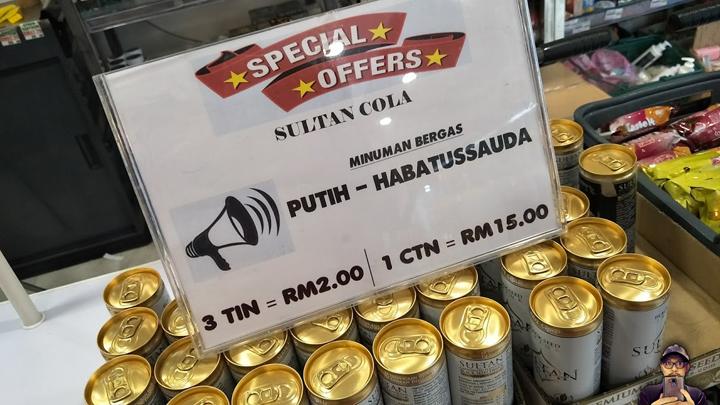 Sultan Cola - Minuman Habbatus Sauda Berkarbonat