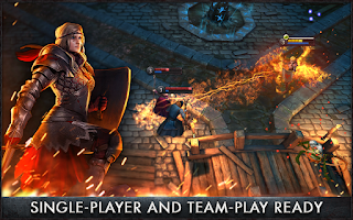 Download Game RPG The Witcher Battle Arena v1.10 APK Mod Full Version (Heroes Unlocked)