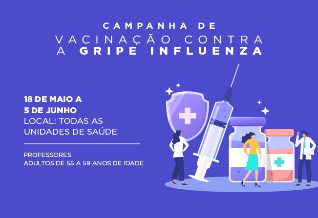 Última fase da Campanha de Vacinação contra a gripe em Cajati