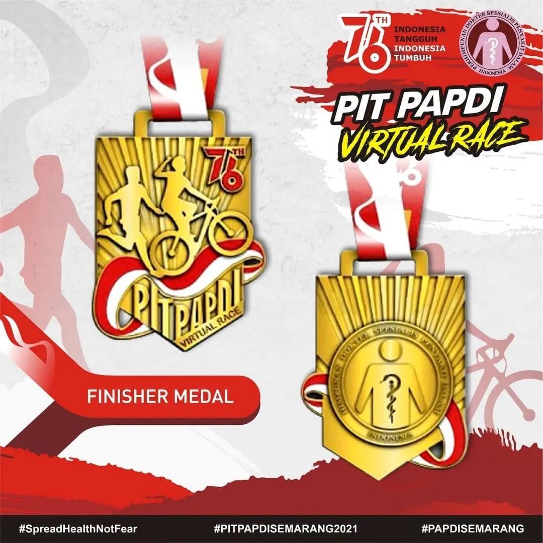 Medali � PIT PAPDI Virtual Race • 2021