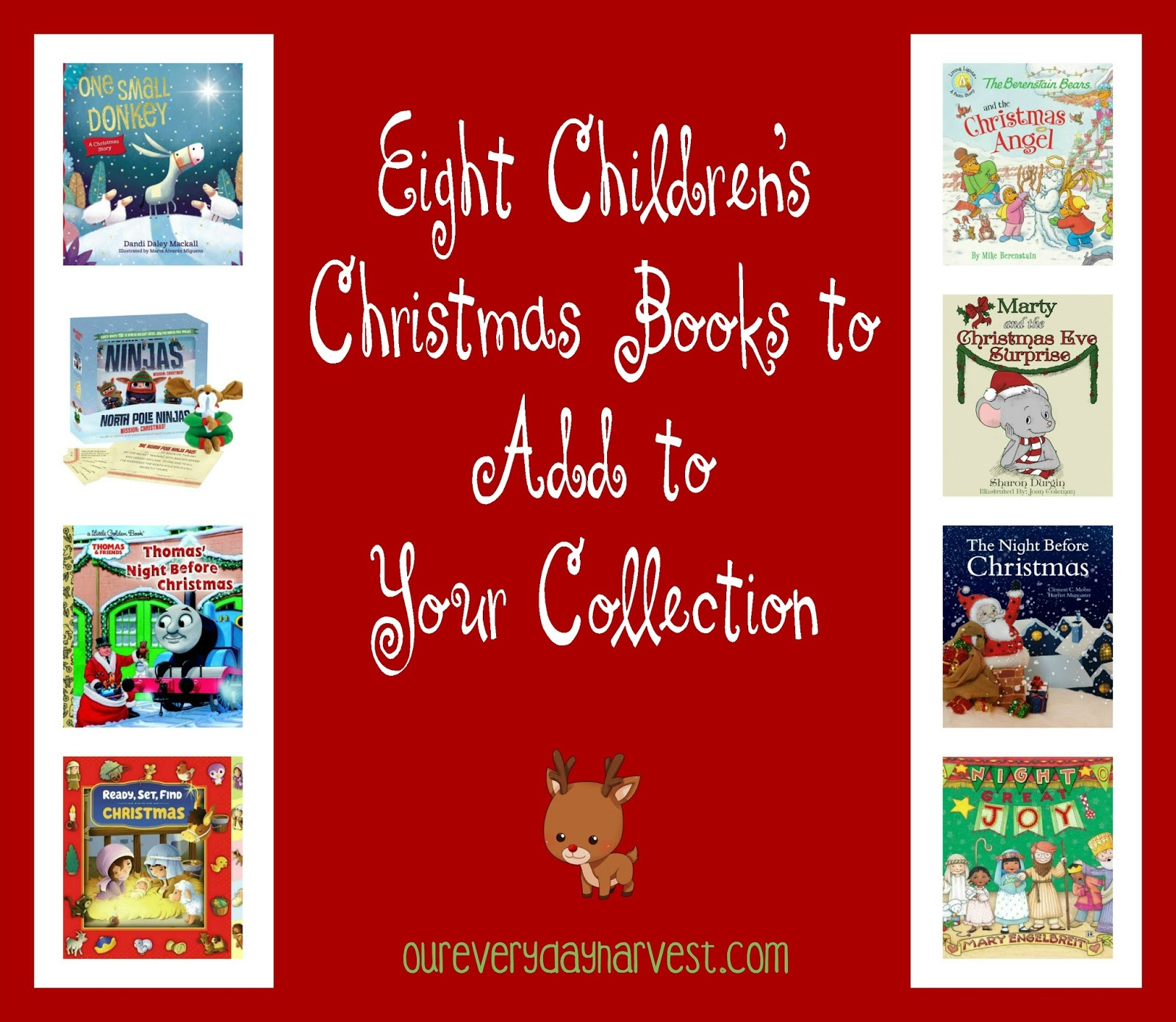 Eight Children S Christmas Books To Add To Your Collection And A