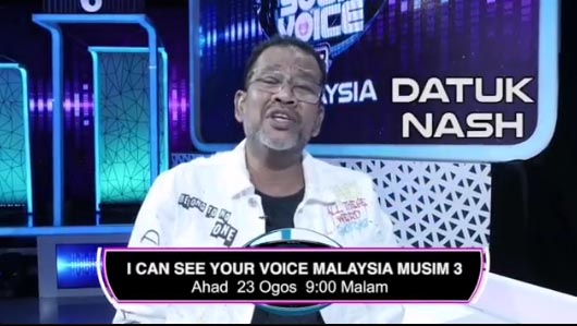 LIVE I Can See Your Voice Malaysia 3 Minggu 21 (23.8.2020)